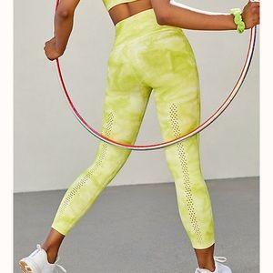 NWOT Free People Good karma Tie-Dye Leggings